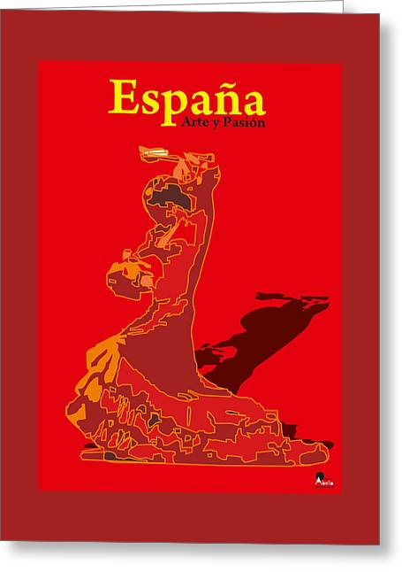 Spain Reed  Greeting Card by Joaquin Abella