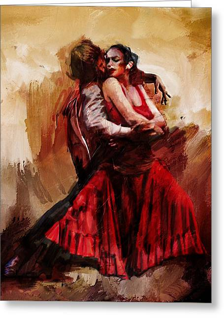 Spanish Dancer Greeting Cards - Spanish Culture 10 Greeting Card by Corporate Art Task Force