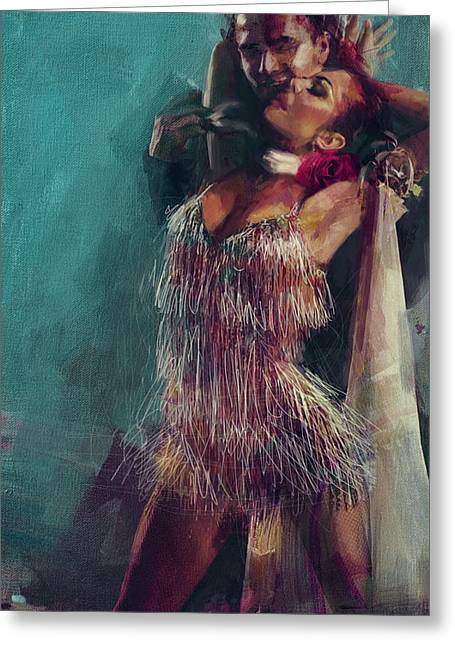 Spanish Beauties Greeting Cards - Spanish Culture 23 Greeting Card by Corporate Art Task Force