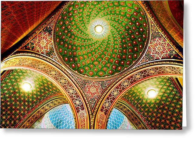 Spanish Synagogue Greeting Card by John Galbo