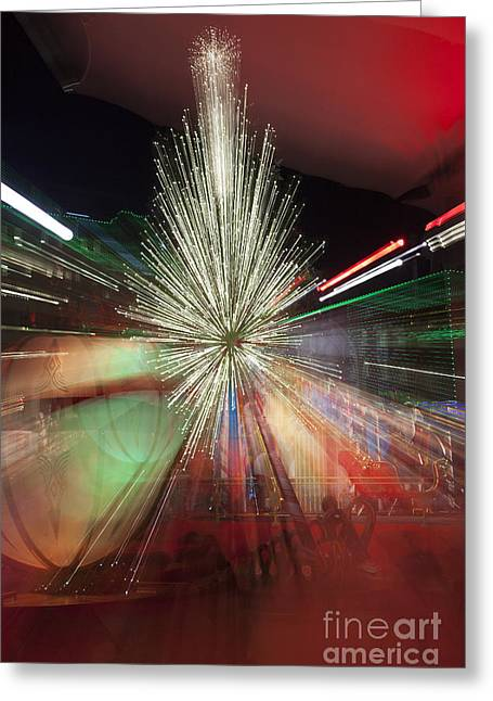Sparkle Abstract 9 Greeting Card by Greg Kopriva