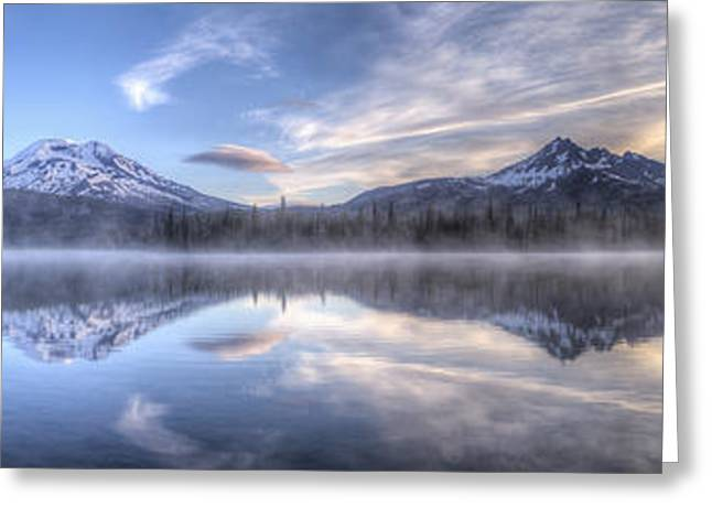 Oregon Photos Greeting Cards - Sparks Lake Splendor Greeting Card by Twenty Two North Photography