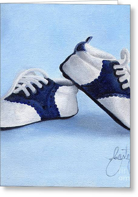 Spats Greeting Cards - Spats Greeting Card by Daniela Easter