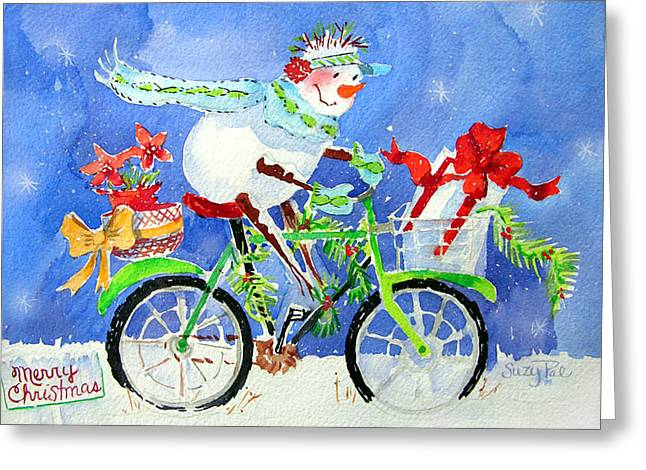 Special Delivery Greeting Card by Suzy Pal Powell