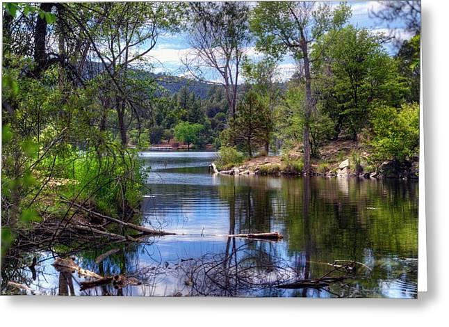 Watson Lake Greeting Cards - Special Memories Greeting Card by Thomas  Todd