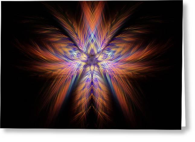 Spectra Greeting Card by Alina Davis