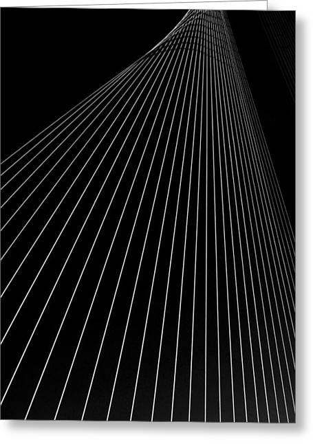 Cables Greeting Cards - Spectrum Greeting Card by Ag Adibudojo