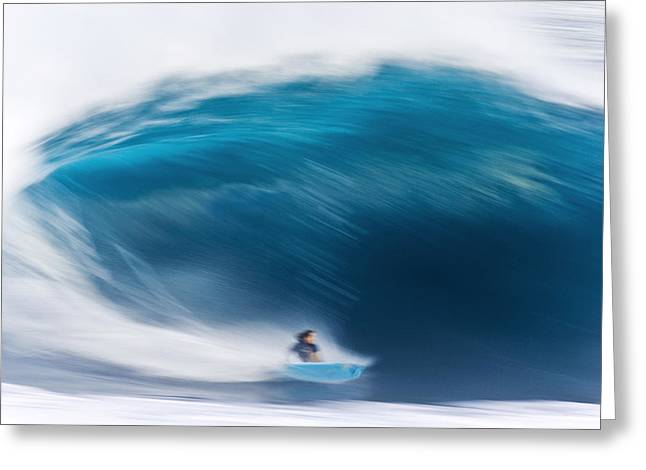 Shack Greeting Cards - Speed Bowl Greeting Card by Sean Davey