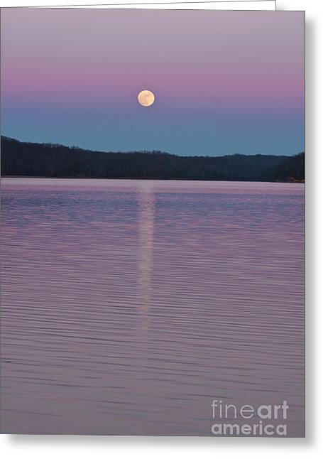 Crater Lake Twilight Greeting Cards - Spellbound Greeting Card by Finesse Fine Art