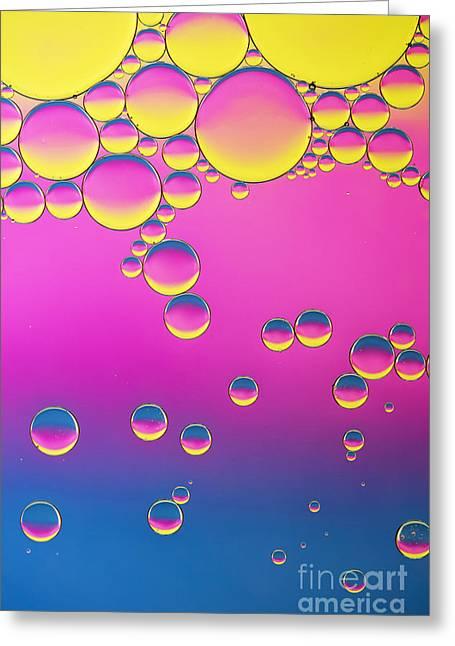 Spherules Greeting Card by Tim Gainey