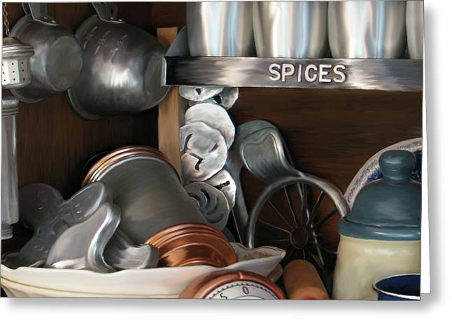 Gathering Greeting Cards - Spice It Up Greeting Card by Lonnie Tapia