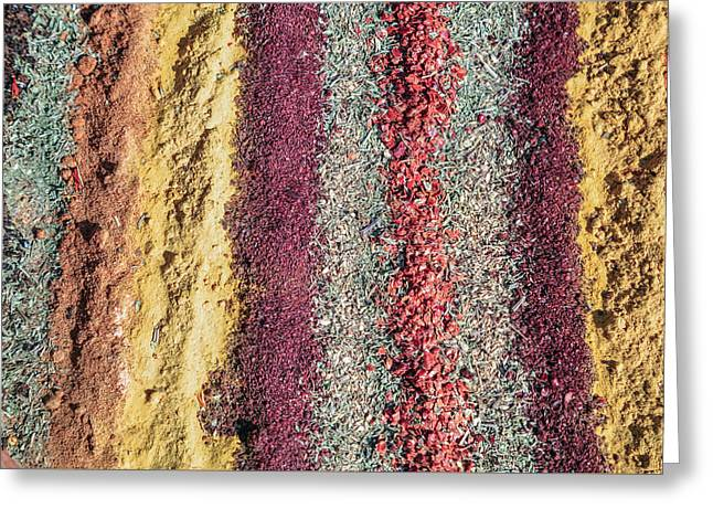 Markt Greeting Cards - Spices Greeting Card by Joana Kruse