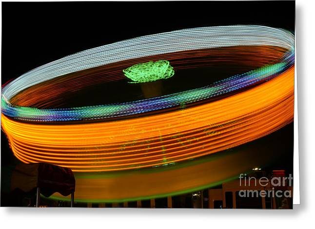 Pirates Greeting Cards - Spinning Plate Greeting Card by Rick Bravo