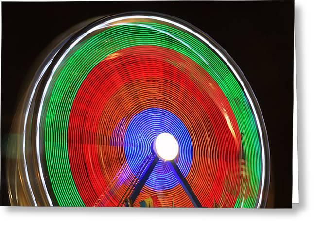 Wheel Framed Prints Greeting Cards - Spinning Wheels Greeting Card by James BO  Insogna