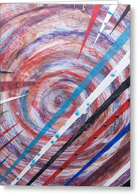 Spiral Unto Thee Greeting Card by Nell Werner