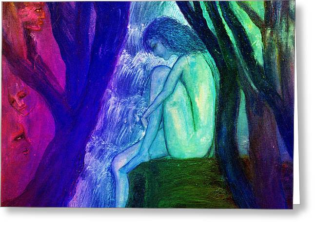 Spirit Guides II Greeting Card by Patricia Motley