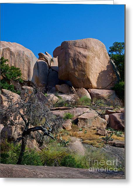 Geology Photographs Greeting Cards - Spirit of Place Greeting Card by Gary Richards