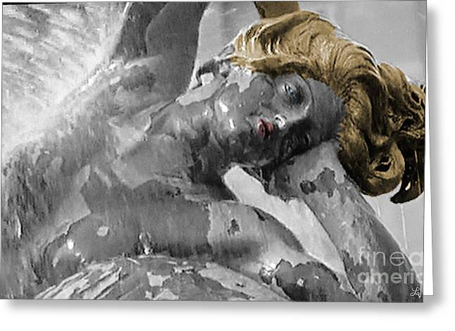 Statue Portrait Greeting Cards - Spirit Of Water Greeting Card by Lyric Lucas
