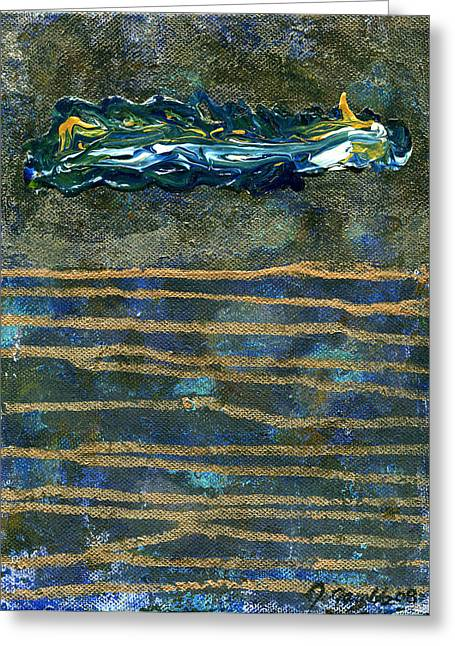 The Art Of Judilynn Greeting Cards - Spirit Realm 2 Greeting Card by The Art Of JudiLynn