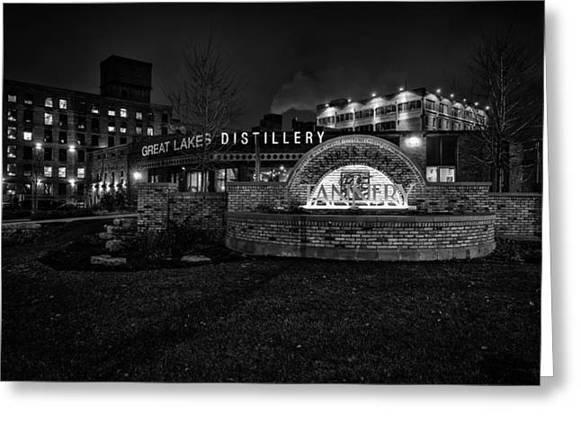 Spirits And History Greeting Card by CJ Schmit