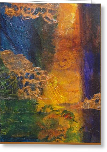 Beneath The Surface Greeting Cards - Spirits of the Marsh Greeting Card by Del Marinello
