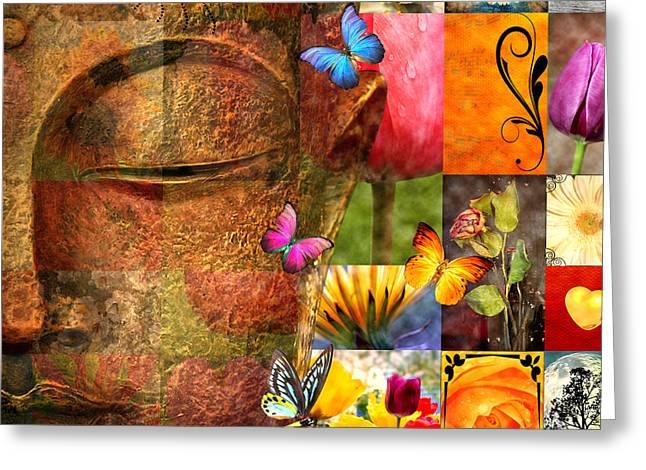 Spiritual Greeting Card by Mark Ashkenazi