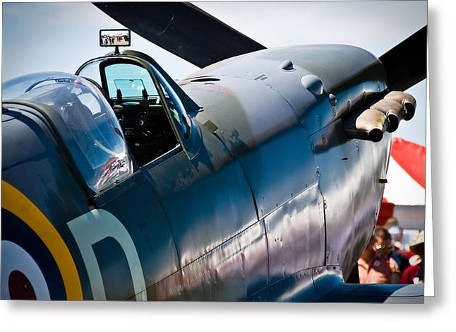 Spitfire Greeting Card by Eric Miller
