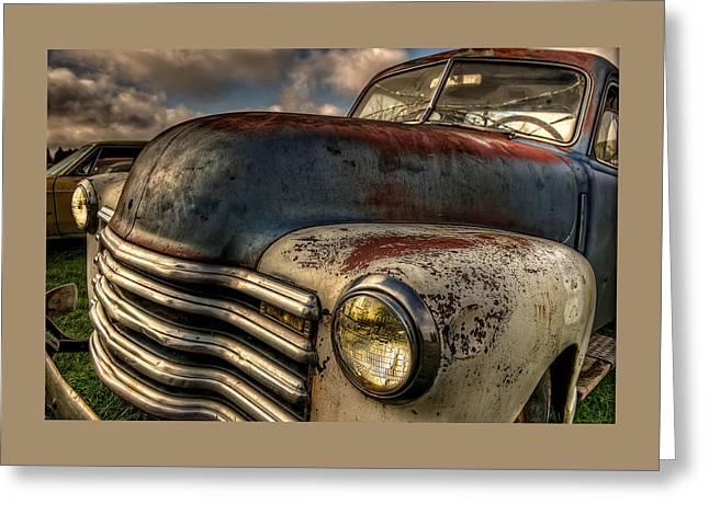 Spittin Rust Greeting Card by Thom Zehrfeld
