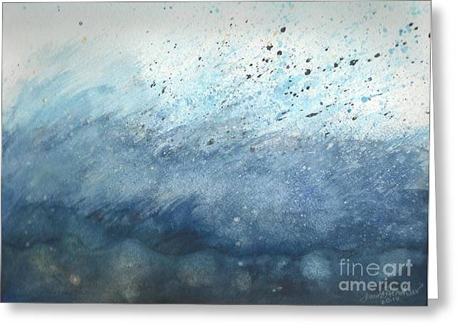Splash   Greeting Card by Janet Hinshaw