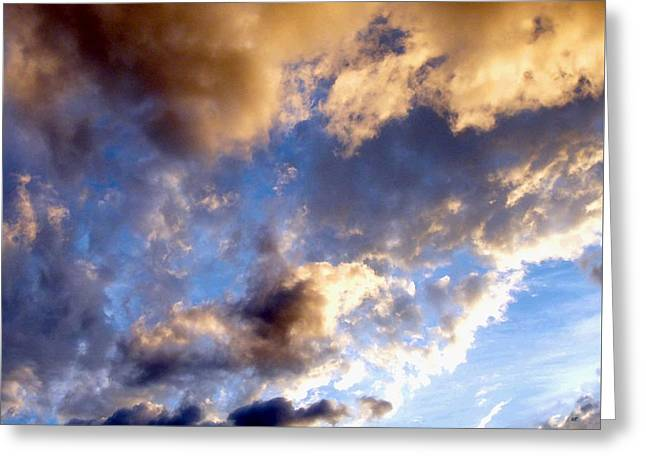 Intrigue Greeting Cards - Splendid Cloudscape 3 Greeting Card by Will Borden