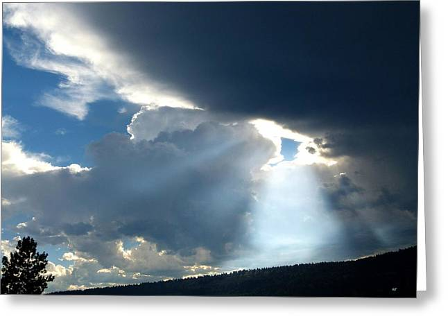 Intrigue Greeting Cards - Splendid Cloudscape 8 Greeting Card by Will Borden