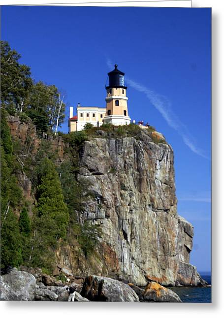 Marty Koch Photographs Greeting Cards - Split Rock 2 Greeting Card by Marty Koch