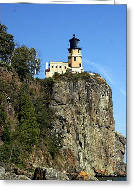 Marty Koch Photographs Greeting Cards - Split Rock 3 Greeting Card by Marty Koch