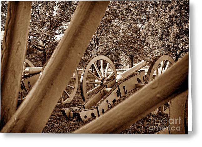 Spokes Of Courage Greeting Card by Olivier Le Queinec