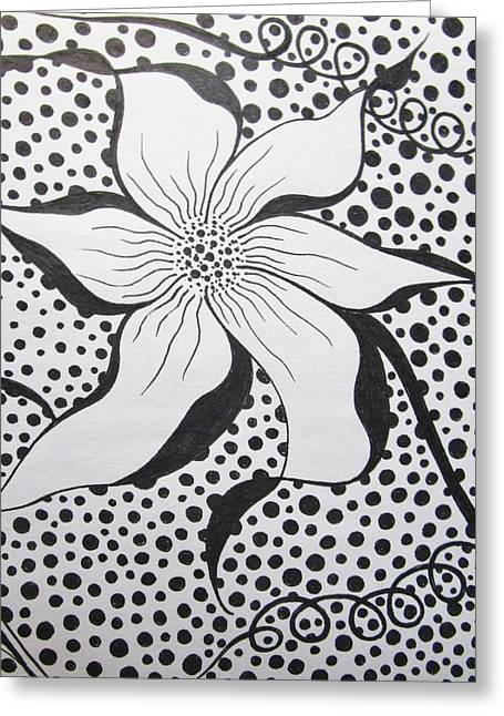 Spoted Greeting Card by Rosita Larsson