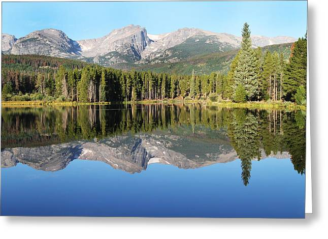 David Yunker Greeting Cards - Sprague Lake Rocky Mountains Greeting Card by David Yunker