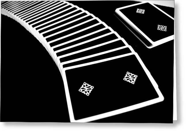 Playing Cards Greeting Cards - Spread the cards Greeting Card by Ivan Alberto Herrera Sainz