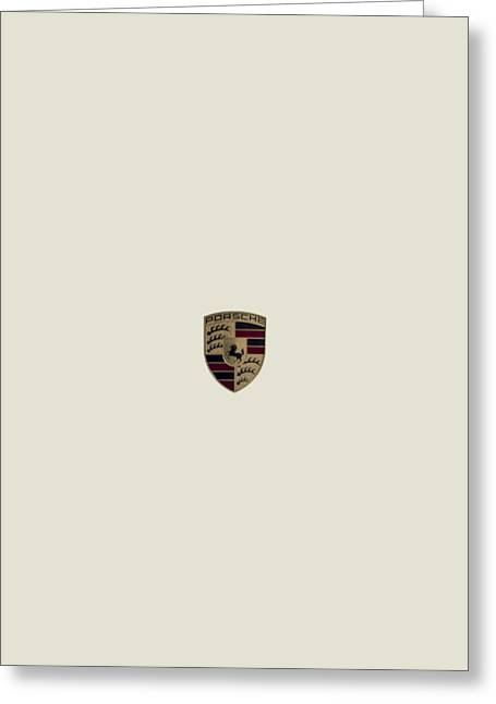 Porsche Greeting Cards - Sprechen Sie Deutsch? Greeting Card by Douglas Pittman