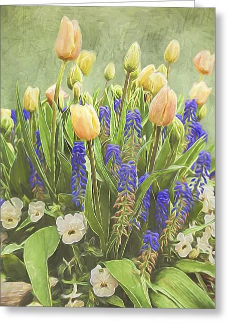 Jordan Paintings Greeting Cards - Spring Art - Life Captured Greeting Card by Jordan Blackstone