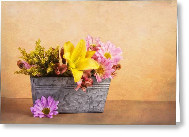 Spring Bounty Greeting Card by Tom Mc Nemar