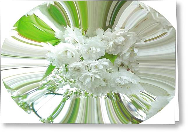 Occasion Greeting Cards - Spring Bouquet Greeting Card by Jacquie King