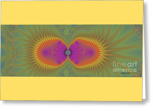 Geometric Image Greeting Cards - Spring Flower Greeting Card by Corey Ford