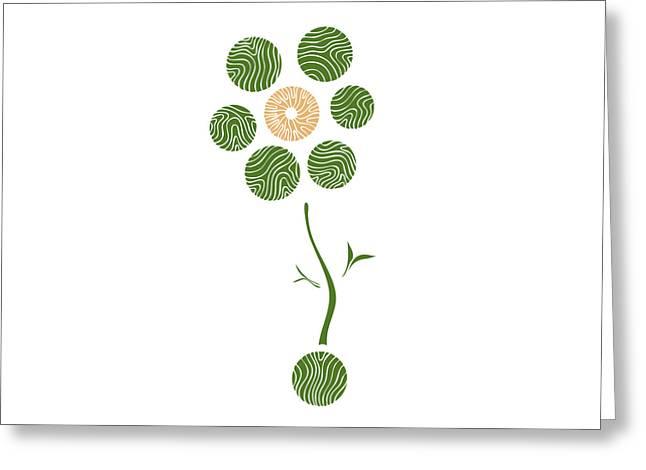 Spring Flower Greeting Card by Frank Tschakert