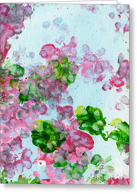 Dog Artists Greeting Cards - Spring Flowers II Greeting Card by Antony Galbraith