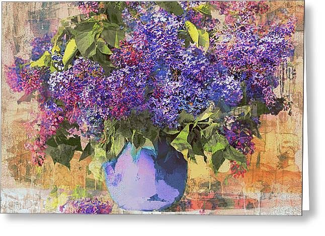 Spring Flowers Greeting Card by Yury Malkov