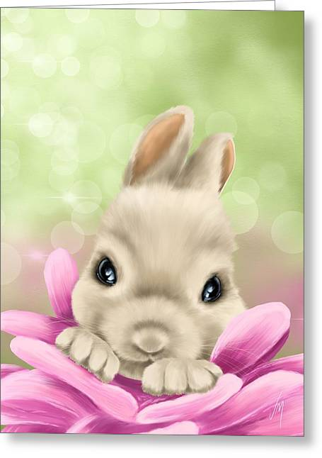 Sweetness Greeting Cards - Spring game Greeting Card by Veronica Minozzi