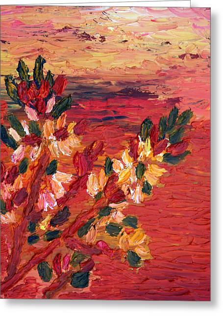 Constant Change Greeting Cards - Spring Has Sprung Greeting Card by Vadim Levin