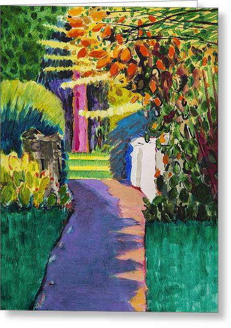 Loose Style Paintings Greeting Cards - Spring Greeting Card by Marco Cazzulini