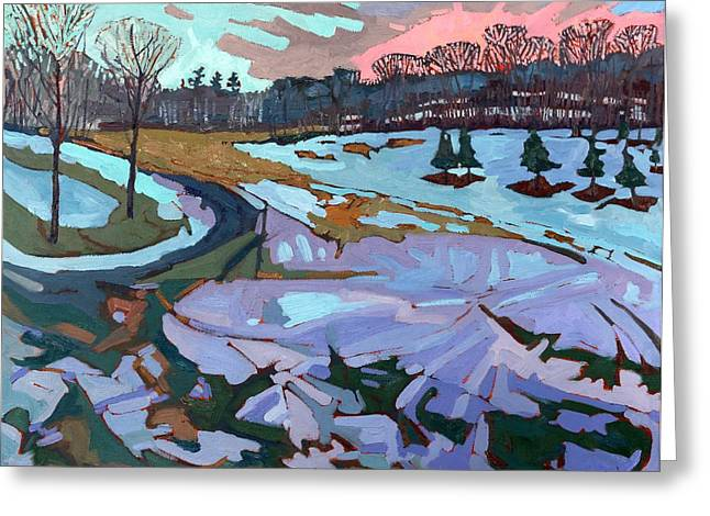 Lake Greeting Cards - Spring Melt Greeting Card by Phil Chadwick