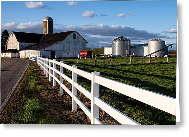 Farmers Field Greeting Cards - Spring on the Farm Greeting Card by Matt Hammerstein